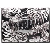 Cuadro Vintage Hojas Wild Spirit Impreso en Lona 4 x 144 x 104 cm