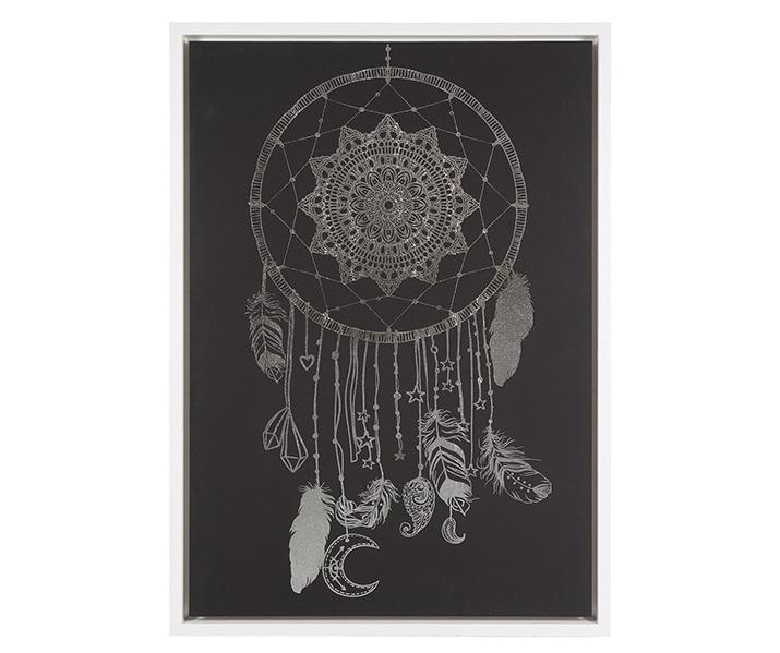 Cuadro Atrapa Sueños en Lona con Bastidor 4 x 69 x 97 cm