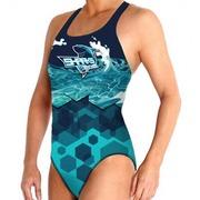 Bañador Waterpolo Femenino BBOSI Sharks