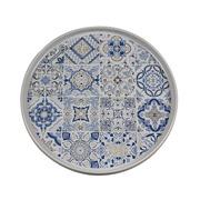 Plato Llano Casadecor en Porcelana 26 x 26 x 2 cm