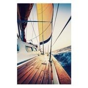 Cuadro Barco Impreso en Lienzo con Bastidor 3 x 80 x 120 cm