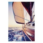 Cuadro Barco Impresión en Lienzo con Bastidor 3 x 80 x 120 cm