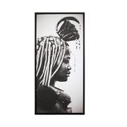 Cuadro Aborigen Digital Brillante 3 x 55 x 115 cm
