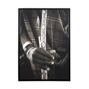 Cuadro Flecha y Arco Digital Brillante 3 x 65 x 93 cm