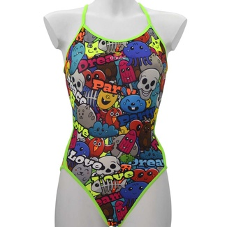 Daale Swim Bañador Mujer Welcome to the Party