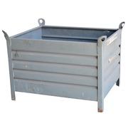 Cestón de Metal Gris 80 x 100 Usado