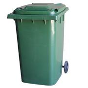 Contenedor de Basura en PEHD Verde 2 Ruedas 360 litros