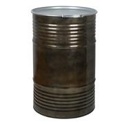 Bidón de Metal Industrial 220 litros con Tapa y Fleje