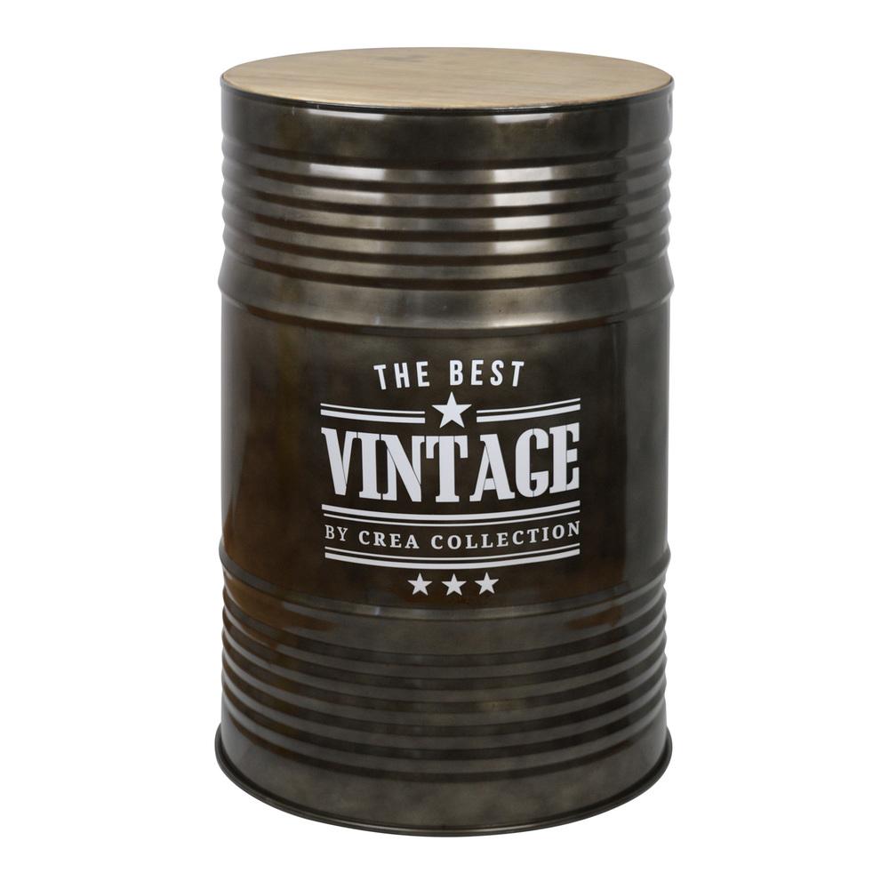 Mesa alta bid n de metal industrial for Mesas industriales vintage
