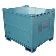 Contenedor Metálico Usado Apilable Azul 100 x 120 Ref.R086