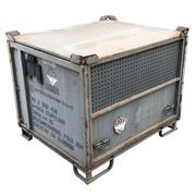 Contenedor Metálico Gris Usado 100 x 120 cm Ref.R037