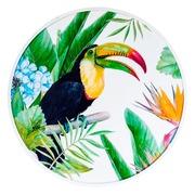 Cuadro Tucán Impreso en DM Multicolor 2,5 x 80 x 80 cm