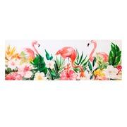 Pintura Flamencos Multicolor en Lienzo 3 x 150 x 50 cm