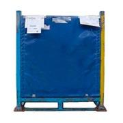 Contenedor Metálico Azul Apilable 67,5 x 108 Usado Ref.R069