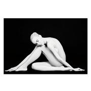 Cuadro Mujer Foto Impreso en Cristal Templado 0,4 x 120 x 80 cm
