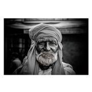 Cuadro Foto Impreso Indio en Cristal Templado 0,4 x 120 x 80 cm