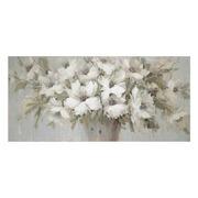 Pintura Flores en Lienzo con Bastidor 4 x 150 x 70 cm