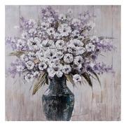 Pintura de Flores en Lienzo 4 x 100 x 100 cm