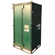 Contenedor Usado Apilable Verde 100 x 120 Ref.R074