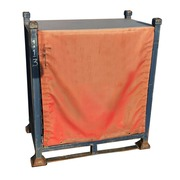 Contenedor de Metal Apilable Azul Rojo 67,5 x 108 Ref.R065R