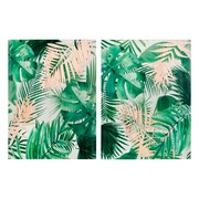 Cuadro Hojas Impreso Marco de Pino 3,8 x 60 x 80 cm