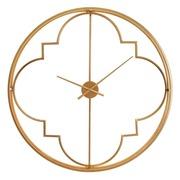 Reloj de Pared en Hierro Oro 10 x 90 x 90 cm