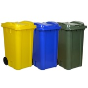 Contenedor de Residuos 240 litros en PEHD 2 Ruedas