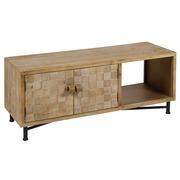 Mueble Televisión Carré en Madera 1 Puertas 38 x 110 x 45 cm
