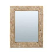 Espejo de Pared Carré en Madera 3,5 x 82 x 102 cm