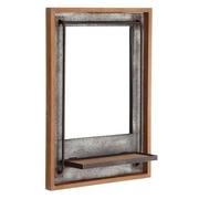 Espejo Pared Industrial en Hierro 18 x 50 x 71,5 cm