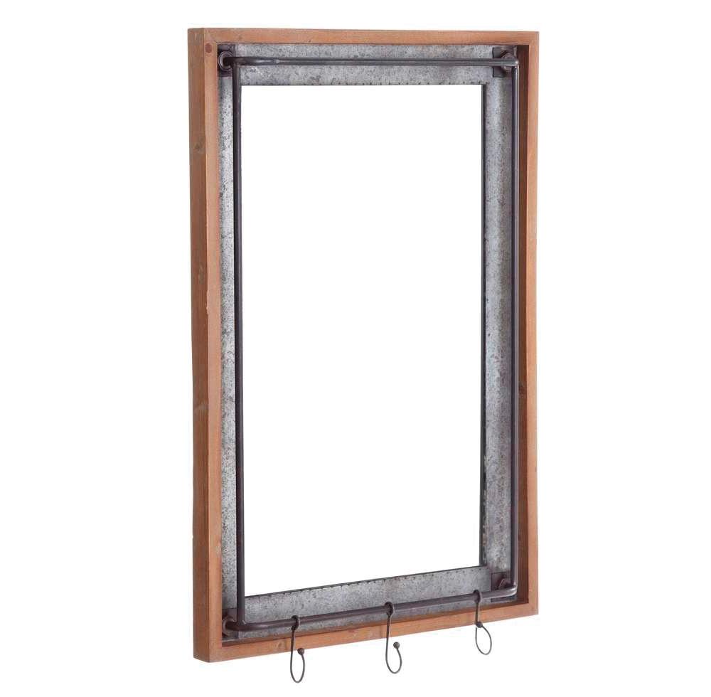Espejo Pared Industrial en Hierro 12 x 54 x 85,5 cm