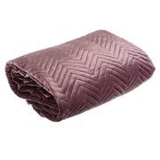 Colcha de Terciopelo Violeta