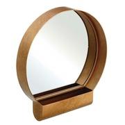Espejo de Pared de Hierro 7,5 x 40 x 43,5 cm