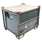 Contenedor Usado de Metal Gris 100 x 120 Ref.R080