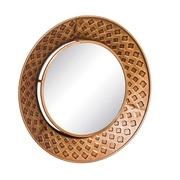 Espejo de Pared Circular en Hierro Oro Viejo 7 x 60 x 60 cm
