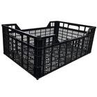 Caja Perforada Ligera Negra 40 x 60 x 21 Usada Ref.6421U