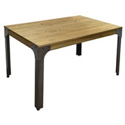 Mesa Madera Industrial  Boston comedor