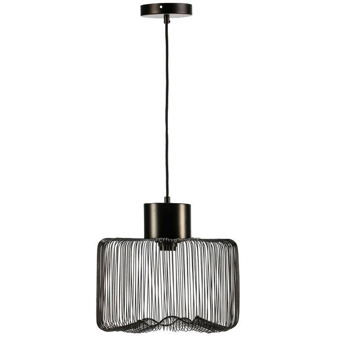 Lámpara de Techo Industrial Gippy Metal Negro Ref.105