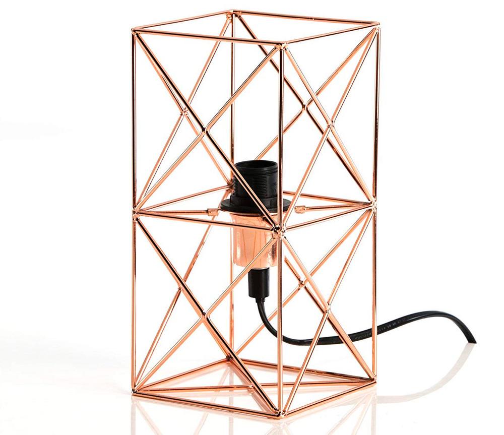 Lámpara de Mesa Industrial Camila de Metal Ref.105