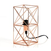 Lámpara de Mesa Camila de Metal Cobrizo Ref.105