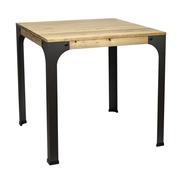 Mesa Bar Bristol Estilo Industrial madera y hierro