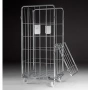 Roll Lavanderia Puerta Abatible de Acero Ref.RLPSA86-104-5