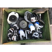 Caja P-2 Lote de ruedas industriales para maquinas