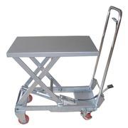 Mesa Elevadora Manual Aluminio 100 kg Ref.10158