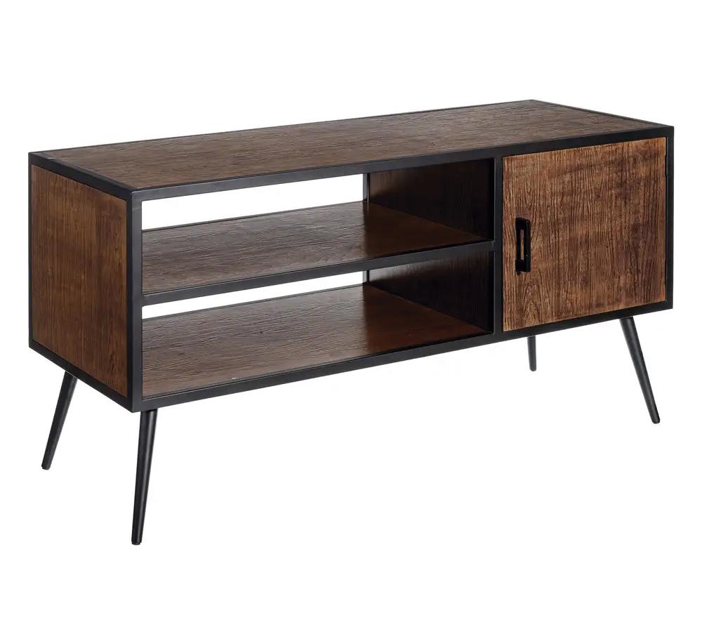 Mueble de Televisión Industrial de Madera 46 x 122 x 62,5 cm