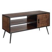 Mueble de Televisión Madera de Abeto 1 Puerta 46 x 122 x 62,5 cm