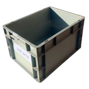Caja de Plástico Norma Europa Semi Nueva 40 x 30 x 23 cm