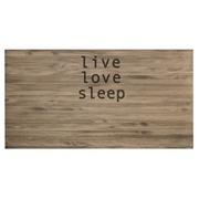 Cabecero Cama Envejecido Live Love Sleep de Madera