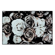 Cuadro Impresión Flores en Cristal con Marco 3,7 x 120 x 80 cm