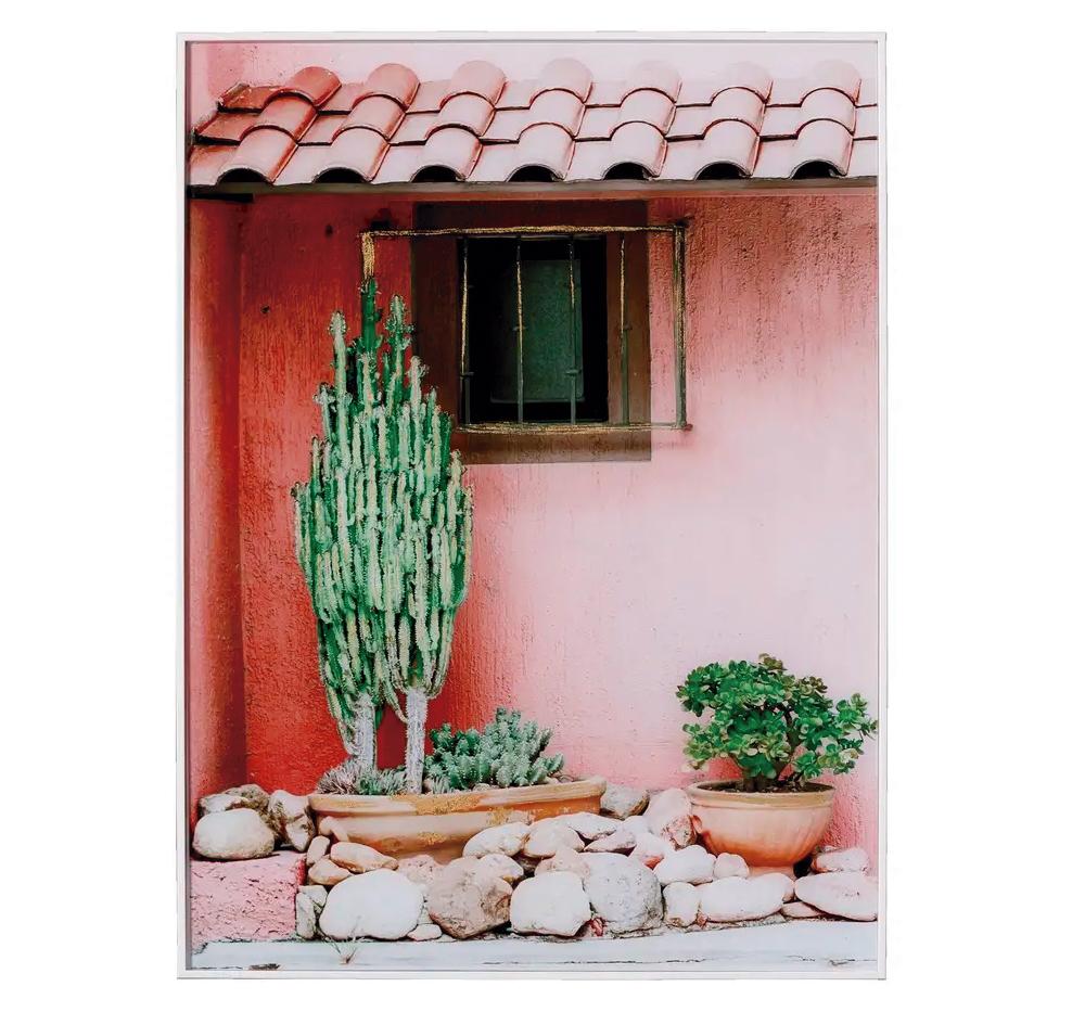 Cuadro Impresión Casa Sobre Cristal Templado 3,5 x 60 x 80 cm